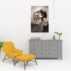 Canvas 24 x 36 - Abstract buffalo