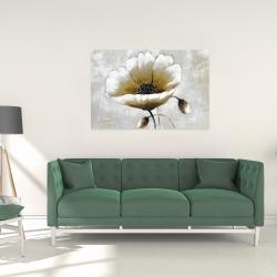 Canvas 24 x 36 - Modern beige flower