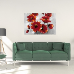 Canvas 24 x 36 - Anemone flowers
