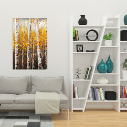 Canvas 24 x 36 - Birches by sunny day