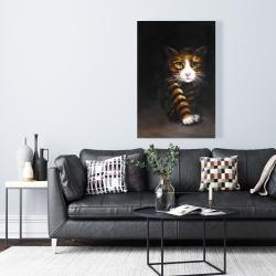 Canvas 24 x 36 - Discreet cat