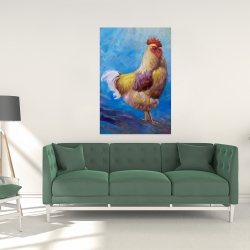 Canvas 24 x 36 - Beautiful rooster