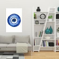 Canvas 24 x 36 - Erbulus blue evil eye