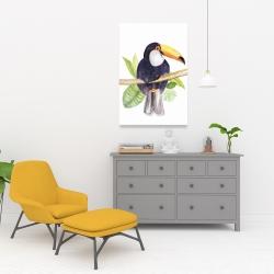 Canvas 24 x 36 - Toucan