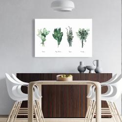 Canvas 24 x 36 - Fine herbs