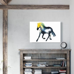 Canvas 24 x 36 - Galloping horse