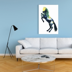 Canvas 24 x 36 - Greeting horse