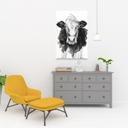Canvas 24 x 36 - Cow