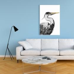 Canvas 24 x 36 - Great heron
