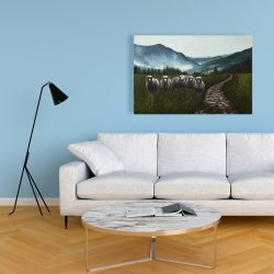Canvas 24 x 36 - Sheep in the countryside