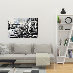 Canvas 24 x 36 - Abstract venise port