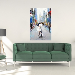 Canvas 24 x 36 - Kiss of times square