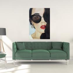 Canvas 24 x 36 - Fashionable sunglasses
