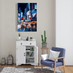 Canvas 24 x 36 - Times square perspective