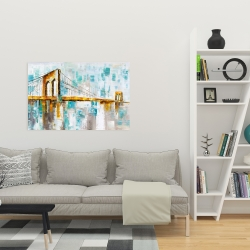 Canvas 24 x 36 - Brooklyn bridge