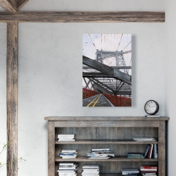 Canvas 24 x 36 - Bridge architecture