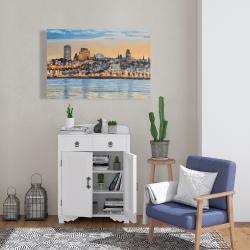 Canvas 24 x 36 - Skyline of quebec city