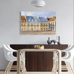 Canvas 24 x 36 - Old quebec city
