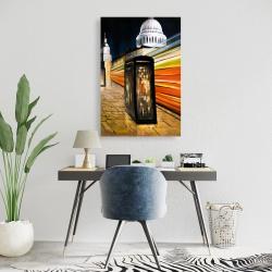 Canvas 24 x 36 - Fast london bus