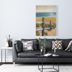 Canvas 24 x 36 - Quiet seaside