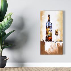 Canvas 24 x 48 - White wine