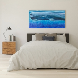 Canvas 24 x 48 - Sperm whale