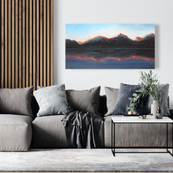 Canvas 24 x 48 - Mountains landscape