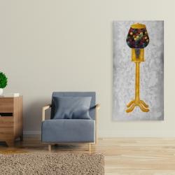 Canvas 24 x 48 - Yellow gum dispenser