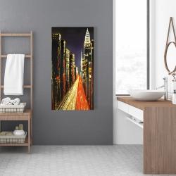Canvas 24 x 48 - Lively city