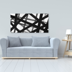 Canvas 24 x 48 - Abstract bold lines