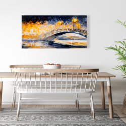 Canvas 24 x 48 - Bridge in the moonlight