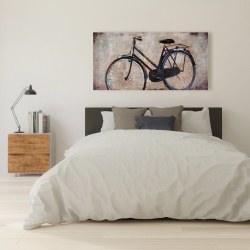 Canvas 24 x 48 - Industrial bicycle
