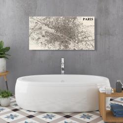 Canvas 24 x 48 - Paris