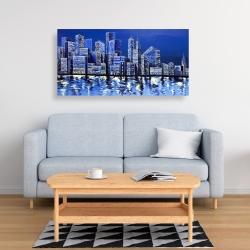 Canvas 24 x 48 - Blue skyline