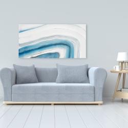 Canvas 24 x 48 - Round geode