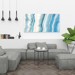 Canvas 24 x 48 - Textured geode