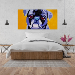 Canvas 24 x 48 - Flash the pug