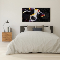 Canvas 24 x 48 - Funny cow