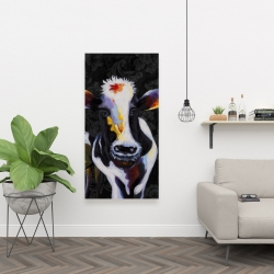 Canvas 24 x 48 - Two funny cows victorian
