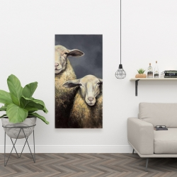 Canvas 24 x 48 - Two sheeps