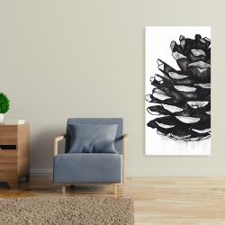 Canvas 24 x 48 - Pine cone