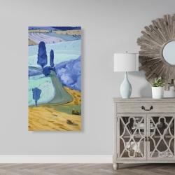 Canvas 24 x 48 - Tuscany field
