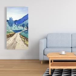 Canvas 24 x 48 - Tuscany trail