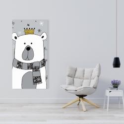 Canvas 24 x 48 - Beautiful bear