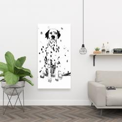 Canvas 24 x 48 - Dalmatian dog