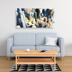 Canvas 24 x 48 - Manhattan view of the empire state building