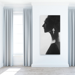 Canvas 24 x 48 - Chic woman