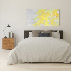 Toile 24 x 48 - érosion dorée