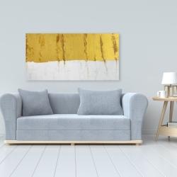 Canvas 24 x 48 - Golden stripe