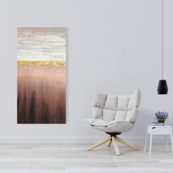 Canvas 24 x 48 - Golden pink